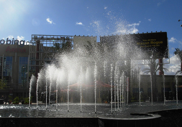 Westgate fountain