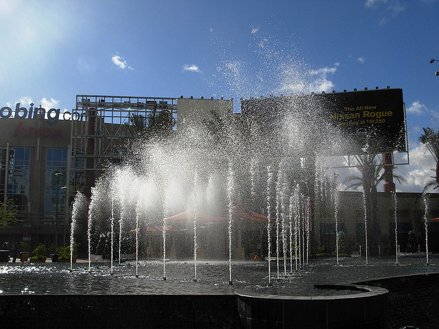 Westgate fountain